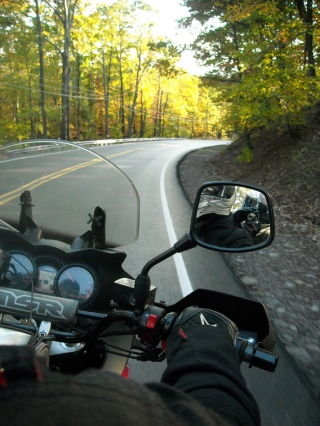 Riding to the German service on a motorcycle was a feast for all my senses... Photo credit: www.roadrunner.travel