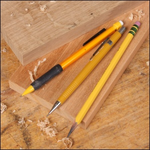 An unknown author tells the story of the Pencil Maker who took aside a pencil... Photo credit: www.startwoodworking.com