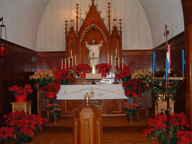 """There was a room just off the right side of the altar called the vestry."" Photo courtesy of: http://www.lutheransonline.com/"
