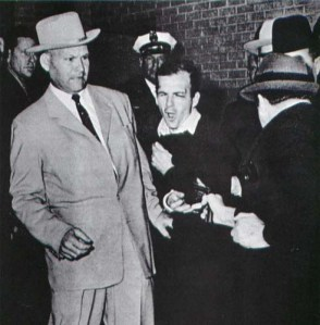 """I saw Oswald being gunned down."" Photo courtesy of: http://www.foothilltech.org"